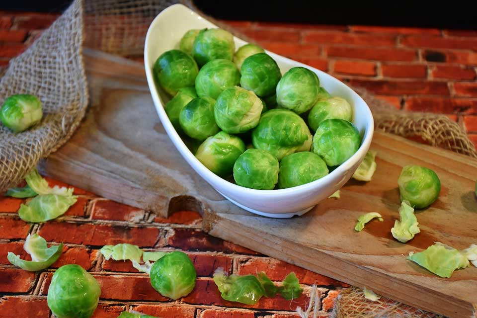 Rosenkohl im Saisonkalender für die Küche